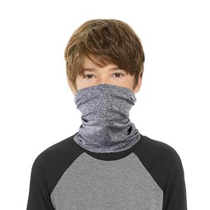 Kids Scarves Bandanas Boys Girls Face Masks Children Outdoor Head Neck Wrap Cycling Face Mask multifunctional Seamless Magic Scarf NEW