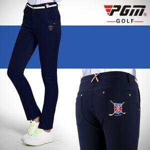 PGM высокое качество плюс гольф брюки женские брюки спортивная одежда тонкий костюм леди эластичный шар теннис вскользь