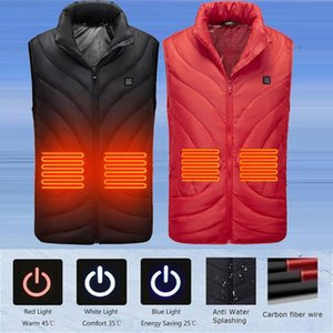 Outdoor Warm Clothing 2020 NWE USB Infrared Waterproof Heating Vest Flexible Electric Thermal Winter Jacker Smart Thermostat