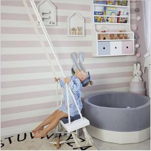 Indoor swing Wooden indoor children's swing Children's room decoration creative new toys Children's room swing