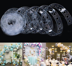 5M Balloon Arch Chain Kit Party Decoration Accessories Birthday Wedding Background Decoration Christmas Supplies DHL Free