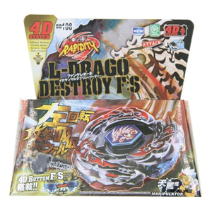 16pcs lot Bayblade BB108 L Drago Destroy Destructor F:S+Launcher WITH LAUNCHER Epacket Free Shipping To Brazil Q1121