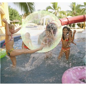 Children Inflatable Toys Outdoor Soft Air Water Filled Bubble Ball Blow Up Balloon Toy Fun Party Game Kids Amazing Bubble Balls F sqcuVg