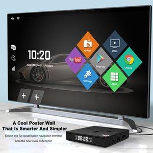 Android 10 Smart TV BOX Quad Core M96+ 2G 16G 4G 64G 5G WIFI H.265 UHD 4K HDMI 2.0A Media Player
