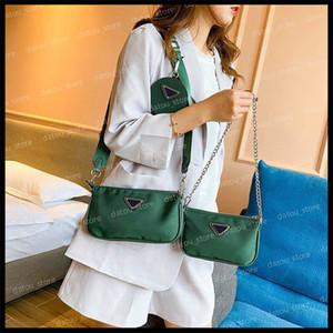2020 Hot Solds Femmes de luxe de luxe Designers Sacs Bandoulière Sac Messenger Sacs à main sac à bandoulière sacs à bandoulière 3 pièces dans 1 portefeuille 2020110301x
