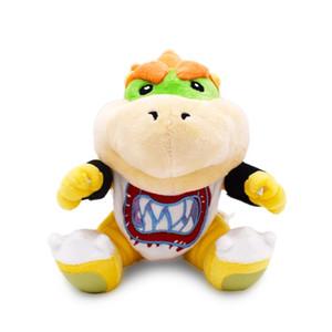Новый KOOPA Bowter Dragon плюшевые куклы братья Bowser JR мягкие плюшевые игрушки 18 см Бесплатная доставка оптом