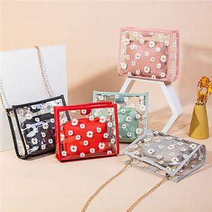 korean designer shoulder bag printed jelly casual shoulder bag 2020 summer and autumn new products ladies shoulder bag