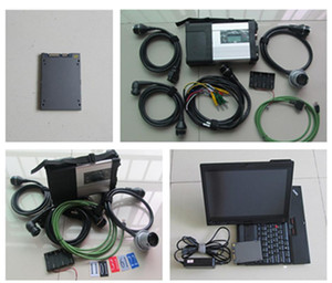 V09 2020 MB Star C5 with X200T SSD HDD X Vediam DAS DTS EPC HHT installed For Auto Diagnostic tool Mercdes Star SD Connect 5
