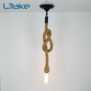 Lampada da soffitto a soffitto retrò retrò a lampada a parete chic lampada a sospensione con il disco da succhiare reception del ristorante Decorazione della famiglia