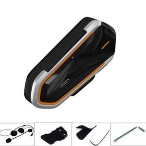 Sport bluetooth headset motorcycle helmet wireless headphone FM radio 2 host walkie talkie mobile phone calls play music 2.4GHz