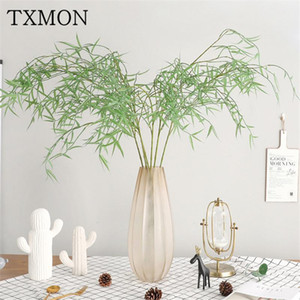 120cm simulation plastic fake plants wedding road lead flower arrangement living room home decoration flower bamboo branch