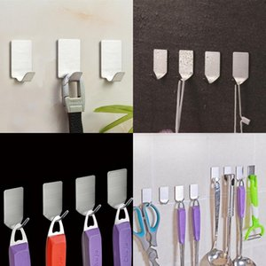 Stainless Steel Hooks No Drilling Exquisite Strength Shower Room Kitchen Popular Hook Portable Creative Sell Well 4 5ko J1