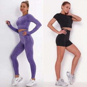 MindStream Spor Yoga Setleri Spor Giysileri Egzersiz Giysi Eşofman Kadınlar Için Nefes 2 Parça Set Kadın Likra Legging Fitness