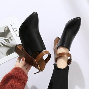 Fashion Women Pumps Dress Ankle Boots Shoes Autumn Winter Women Pointed Toe Zipper High Heels Warm Snow Boots Mujer