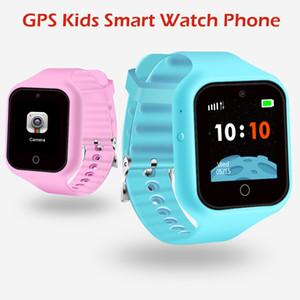 Enfants Enfants Smart Watch S668 Anti Lost Child Watch Tracker Sos Smart Monitoring Positionnement Téléphone Baby Watch Compatible IOS Android