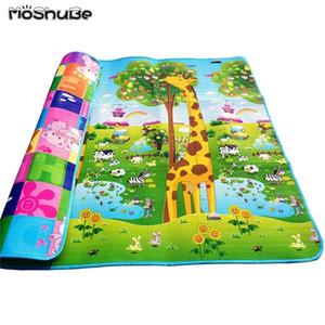 200*180*0.5cm Baby Crawling Play Mat Children Puzzle Kid Toy Developing Gym Rug Eva Foam Carpet Soft Floor Playmat Q1121
