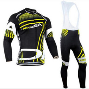Team Long Ropa Ciclismo Cycling Jerseys Autumn Mountian Bicycle Clothing MTB Bike Clothes For Man