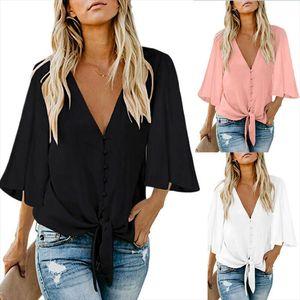 Womens Fashion Blouses 2020 Summer Shirt Loose Tunic Casual Blouse Tops Shirt Female Clothes Plus Size Women