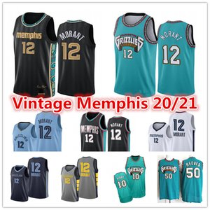2021 JA 12 Morant Jersey Herren Vintage Vancouver