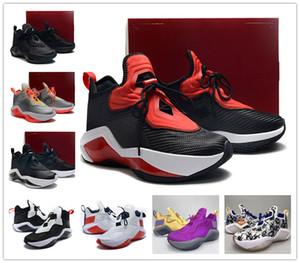 Meilleur soldat 14 XIV EP KAY YOW HARE UNIVER UNIVERS UNIVERSION ROUGE Noir Hommes Basketball Chaussures James 14s Mens Sports Sports Sneakerfast Ship