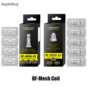 Land Vape BF MESH X2 COIL 0.3ohm & BF MESH X3 Coil 0.8ohm for SMOK RPM Fetch Scar Mag Pod Caliburn G