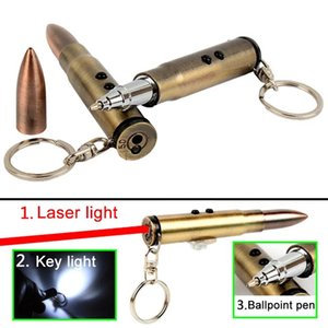 4 in 1 Multifunction Bullet Shaped Pen Outdoor Backpacking Multisport Survival EDC Laser+Light+Life-Saving Hammer+Ballpoint Camping kit