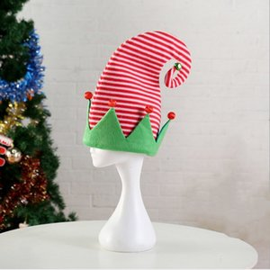 New Christmas Costume Elf Hat Party Ball Halloween Clown Hat Y1125