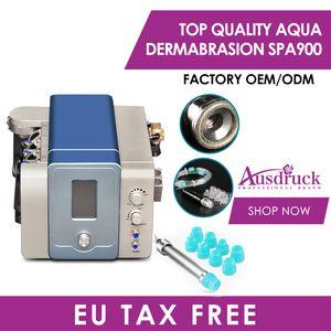 Tassa dell'UE Free Hydro Dermabrasion Skin Skin Ringiovanimento Anti Aging Diamante Microdermabrasion Hydro Peeling Facial Machine Vial Spa Attrezzature per salone spa