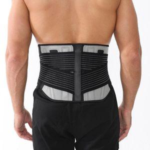 Lumbar Back Brace Adjustable Trainer Straps for Lower Back Core Support Belt Theraputic Sciatica Breathable Mesh Design