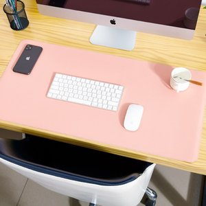 Corkwood Double Sided Desk Mats Oversized Mouse Pad Laptop Desk Pad Waterproof PU Leather Mouse Pad MY-inf0636
