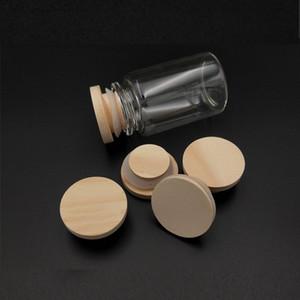 Герметичная деревянная крышка натуральный экологически чистый бамбуковый чашка Coaster Barrel крышка уплотнения крышки кружка резервуара DWF3500