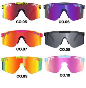 Polarized New Fashion Man Pit Viper Солнцезащитные очки Двухместный Поляризованные Зеркальные Очки Lens TR90 Велоспорт Glasse УФ Открытые Ветрозащитные Очки