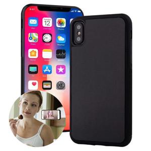 Caso de telefone anti gravidade para iPhone 12 11 Pro XR XS Max SE 2020 6S 7 8 Mais casos à prova de choque Magical nano sucção adsorved capa