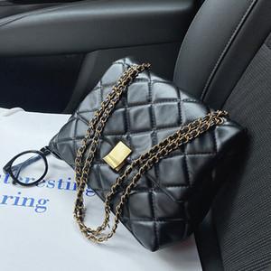 Large Capacity PU Leather Bags For Women 2020 Elegant Chain Shoulder Handbags Ladies Trends Crossbody Bag Fashion G2415 Q1119