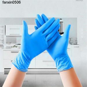 Accueil Ensemble bon pour le latex jetable authentique 100pcs nettoyage des bandes de caoutchouc de la vaisselle résistant à l'eau