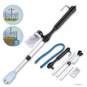 1 шт. Aquarium Battery Battery Siphon Управляемая рыба Бак Вакуумный Гравил Фильтр для воды Чистый Сифонный фильтр Очиститель Fish Tain Tools Aquarium T0ICG