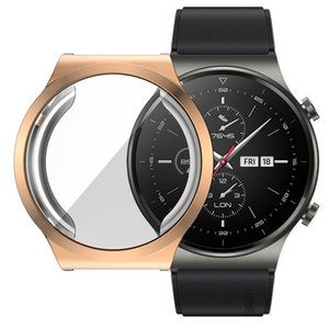 Soft Protect Cover для Huawei Watch GT2 GT 2 Pro Case TPU Бампер для часов GT 2 PRO Accessorie Accessorie полный экран Protector