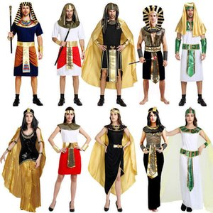 Halloween Antiguo Cleopatra Godja griega Play Play Show Show Queen Traje