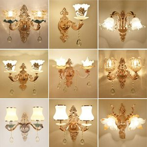 Modern Led Wall Light for Home Gold Luxury Wall Lamp Vintage Bedroom Living Room Bedside Lamp Stairs Sconce Loft Decor Luminaire