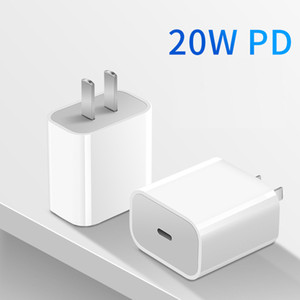 20w 18w Pd Usb C Charger For Iphone 12 Pro Max Fast Charger Type C Qc 3.0 Quick Charging Mobile Phone Charger