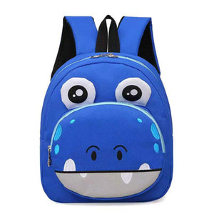 New bags for boys and girls Kindergarten school bags cartoon printed children backpack cute animal satchels free delivery