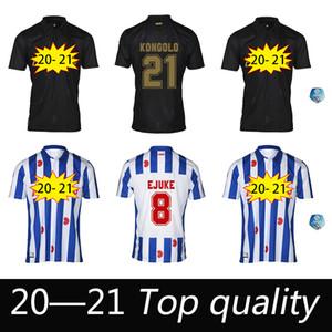 New Heerenveen SC Soccer Jersey 2020 2021 FC Heerenveen Camicia da calcio Faik Ejuke Maillot de Foot van Bergen Home Away Camiseta