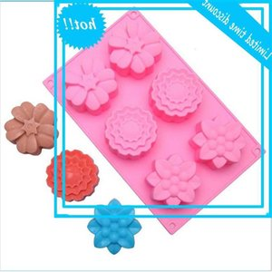 6 sets of 3 silicone hand soap moon cake molds baking abrasives
