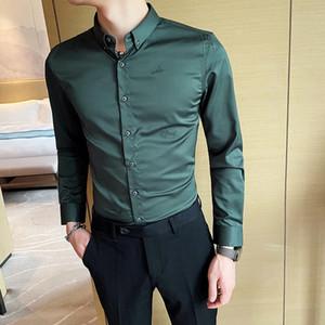 Neue männer 2021 frühling winter fein britisch stil gestickter bildschirm mode junge kleidung m-5xl vtom