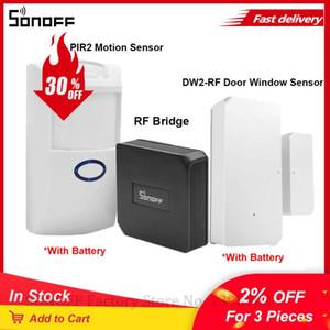 ITEAD SONOFF DW2 RF 433MHz Senseur de portes / fenêtre sans fil PIR2 Senseur de mouvement Smart Home Security fonctionne avec Sonoff RF Bridge