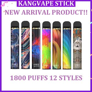 NEW Kangvape Onee Stick Disposable Device With 1100mah Battery 6.2ml Cartridge Pod 1800 Puffs Vape Pen Starter Kits VS Air Bar Lux
