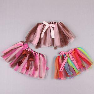 Clearance sale rainbow girls skirts girls tutu skirts kids skirts fashion party lace kids skirt tiered skirt kids clothes Z210