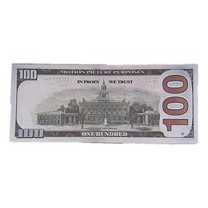 100 Paper Money Bar accessoires de tournage de films 1: 1 Simulation de design Simulation Money accessoires Jouets Enfants Cadeaux Livraison rapide 9B