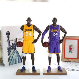 Ação Toy Figuras Início resina artesanato fazer basquete lembrança estrela de personalização Presentes peça de presente estudante fornecendo