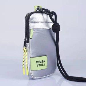 Bimba y lola 2021 Original Ladies Fashion Casual Telefono Borse per cellulari Pocket Famoso Brand Mini Shoulder Crossbody Borsa Femmina Small Handbag Bolso